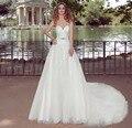 ON455 Suzhou Perfeito Nova Moda Lace Querida Vestidos de Noiva Cinto de Cristal Longo Vestido de Noiva Barato Personalizado Loja Online