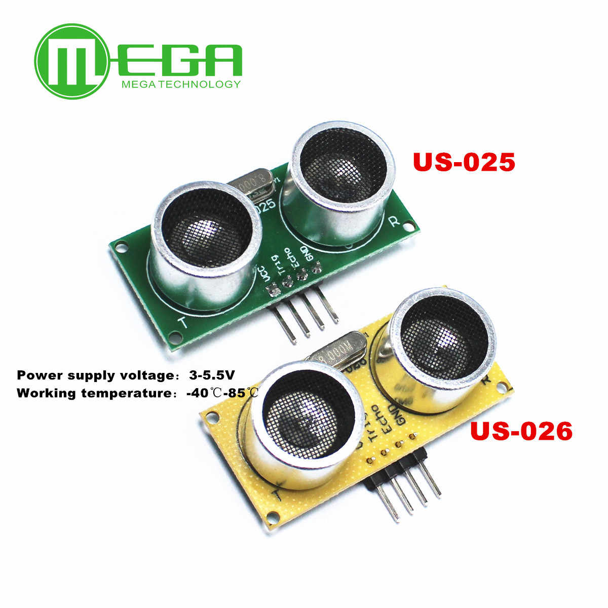 US-025 US-026 ultrasonic ranging sensor module replaces hc-sr04 industrial grade 3V~ 5.5v