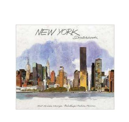 New York Sketchbook NY City Architecture/Building Watercolor