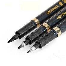 3 шт./компл. каллиграфическая ручка для японских Размеры размеры S, M, l китайской каллиграфии кисти пера