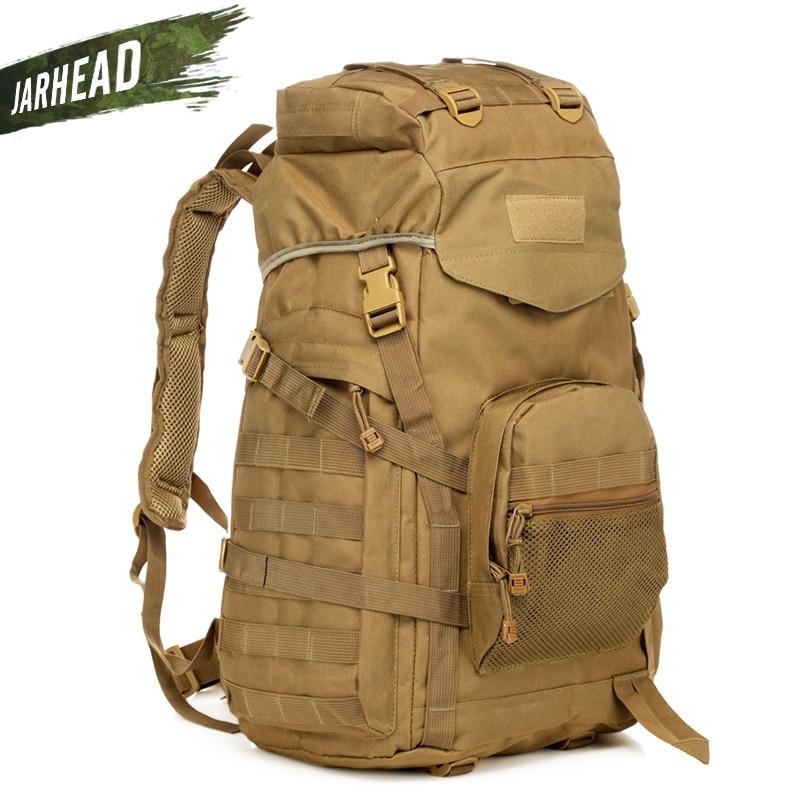 ao ar livre tatico mochila 60l militar saco do exercito de trekking esporte viagem acampamento caminhadas