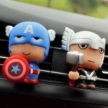 Automotive Freshener Car Perfume Clip For The Avengers Marvel Superhero Figures
