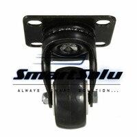 Free Shipping 4 Pcs Heavy Duty 200kg 50mm Swivel Castor Wheels Trolley Furniture Caster Rubber