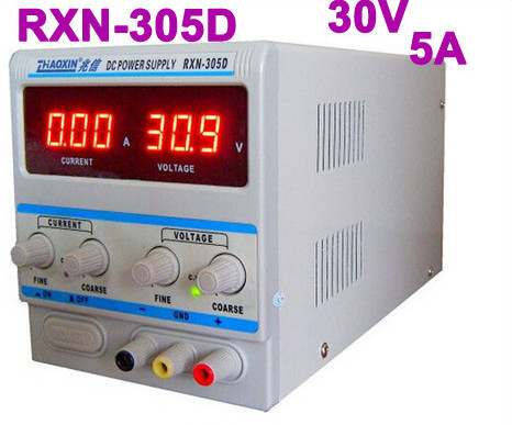 Zhaoxin Linear Adjustable DC Power Supply RXN-305D 30V 5A free shipping zhaoxin linear adjustable dc power supply rxn 305d 30v 5a