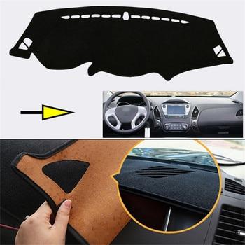 New Interior Dashboard Carpet Photophobism Protective Pad Mat For Hyundai Ix35 2010-2015