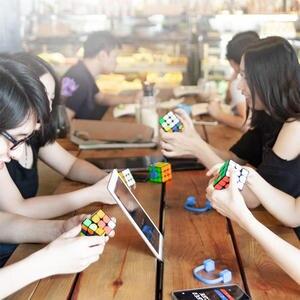 Image 3 - [Обновленная версия] Оригинальный Интеллектуальный супер куб Giiker i3s AI умный волшебный Магнитный Bluetooth приложение синхронизация головоломки игрушки