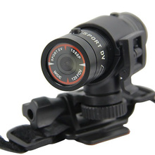Mini Bicycle Camera 1080P Video Recorder Sports Cameras Waterproof Portable Camera Outdoor Helmet Camcorder Aluminium Alloy