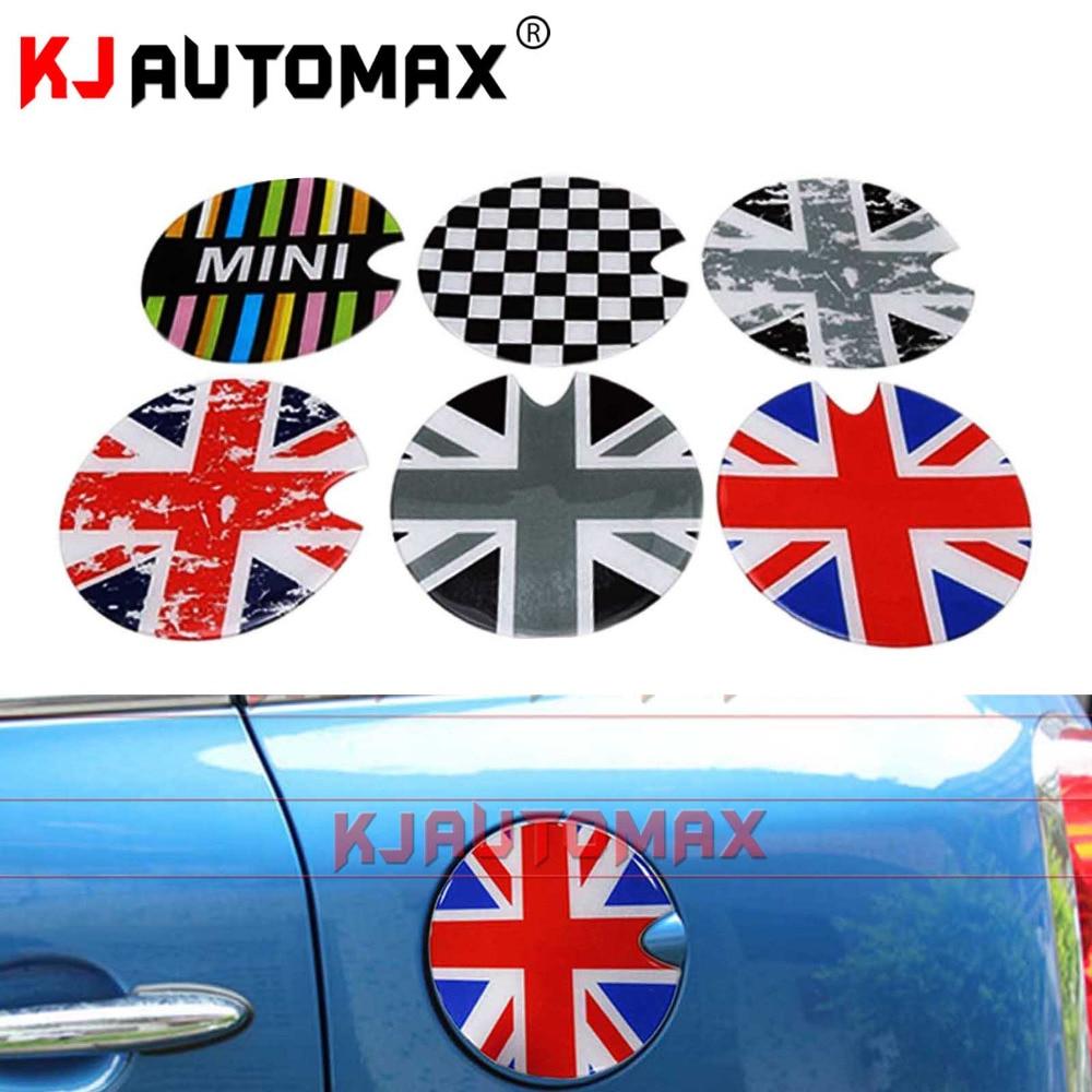 For MINI 3D Gas Tank Cover Sticker Mini Cooper S R55 R56 R57 R58 R59 R60 R61 F55 F56 Cap Sticker Modified Decoration Accessories