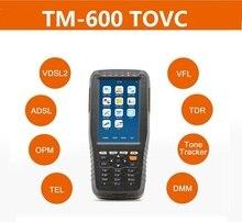 TM 600 TOVC VDSL VDSL2 Tester ADSL WAN & LAN Tester xdsl line Test Ausrüstung mit alle funktionen (OPM + VFL + Ton Tracker + TDR)