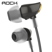 ROCK Zircon Stereo In Ear Earphone Headphone With Microphone And Remote For IPhone 5 5S 6