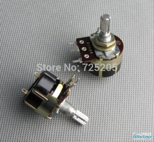 Rotary Power Switch Two Pins with Potentiometer B500K Stalk Shaft Length 20mm 3A 250V DIY HIFI Amplifier Audio Free Shipping