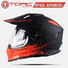 TORC new arrival motocross full face helmet motobike Casco off road hel