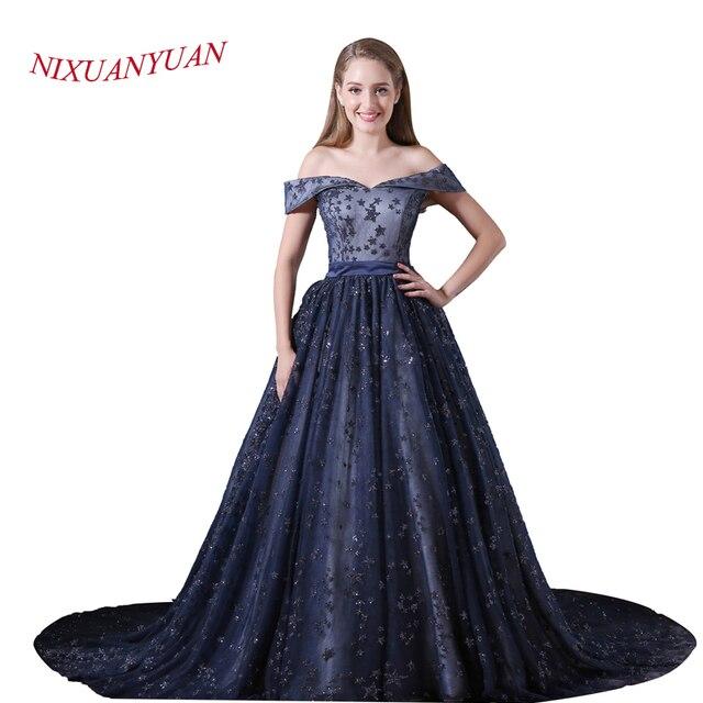 Vestidos de novia azul marino