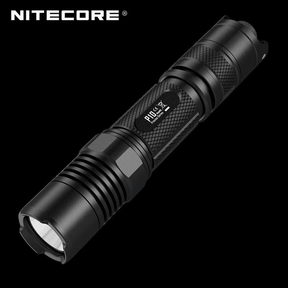 original factory price nitecore p10 800 lumens enforcement torch portable led t6 flashlight