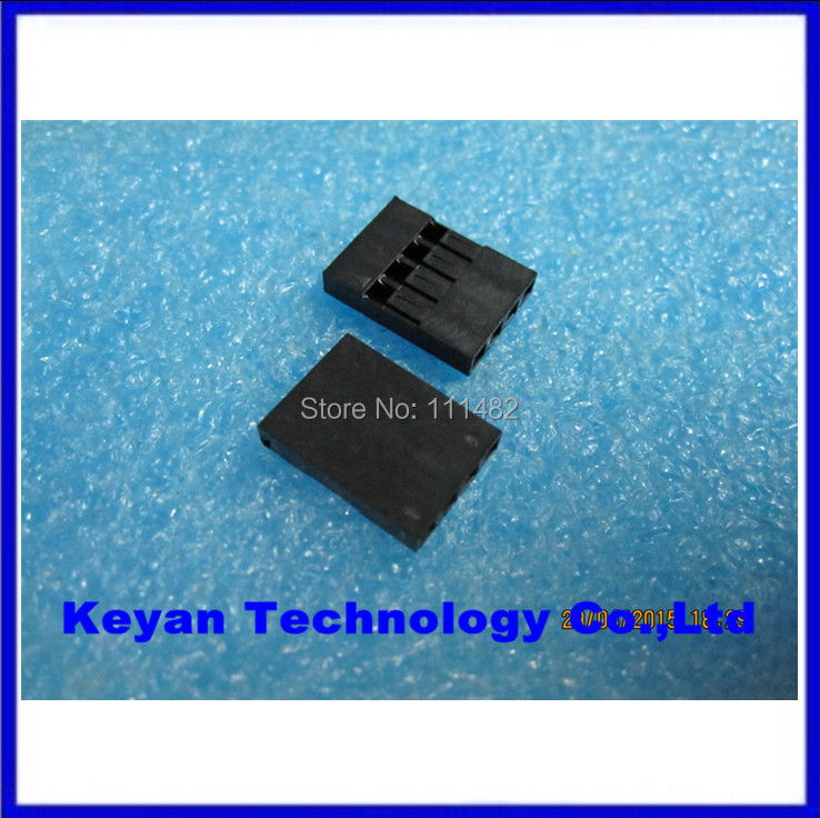 №100PCS 2.54mm 4P Plastic For Dupont Jumper Housing Female Pin ...