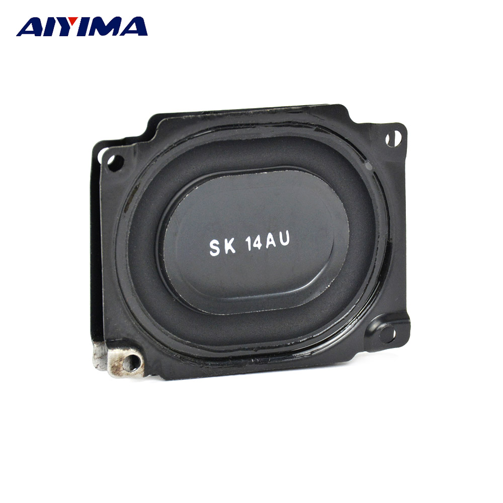 AIYIMA 2Pcs Bass Passive Radiator Speakers 53x43MM Vibration Plate Membrane Diaphragm Speaker Repair Parts For SK