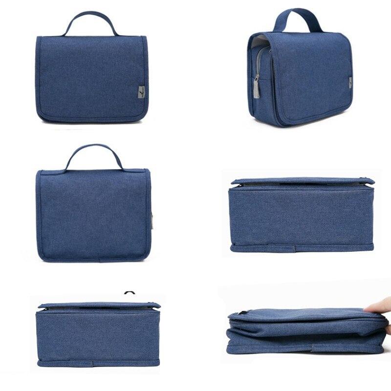 LHLYSGS Brand Waterproof Hanging Wash Toiletry Bag Women Travel Large  Capacity Cosmetic Bag Men Fashion Makeup Organizer Bag free shipping  worldwide 73cdd8034d96a