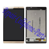 Gold Full LCD DIsplay Touch Screen Digitizer Assembly For Huawei Mediapad M2 8 0 M2 801L