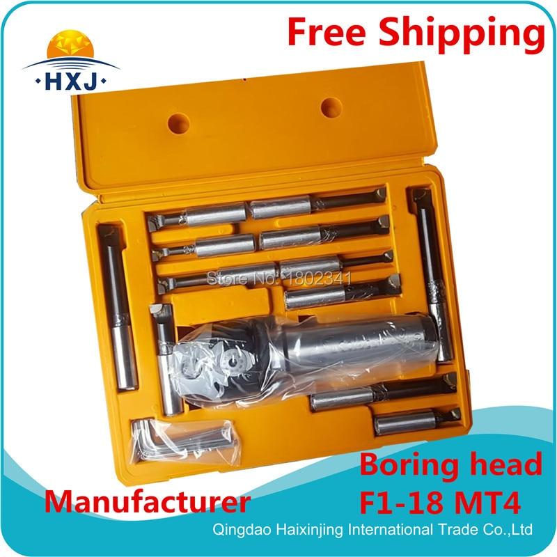 Kit of boring head F1-18/MT4 (included 12pcs boring bars 18mm)