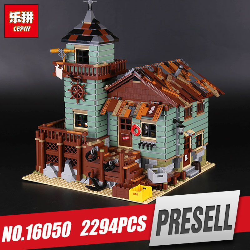 Lepin 16050 Genuine 2109Pcs MOC Series The Old Finishing Store Set 21310 Building Blocks Bricks Educational Funny Toys As Gifts managing the store