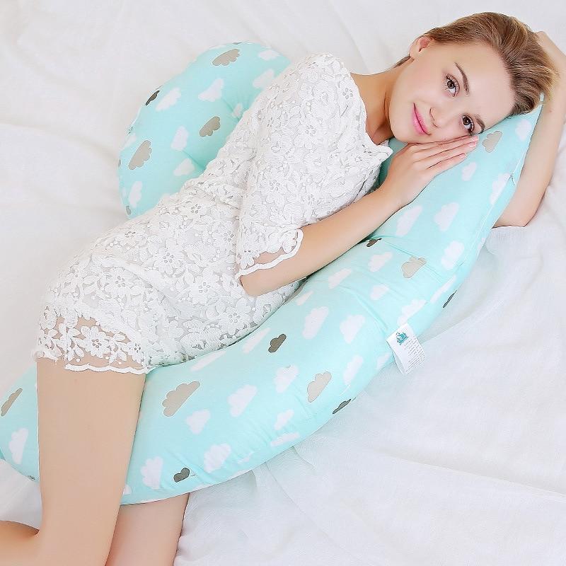 Pregnancy Body Pillow Multifunction Breastfeeding H Shape Maternity Pillows Pregnant Women Waist Abdomen Support Cushion Bedding