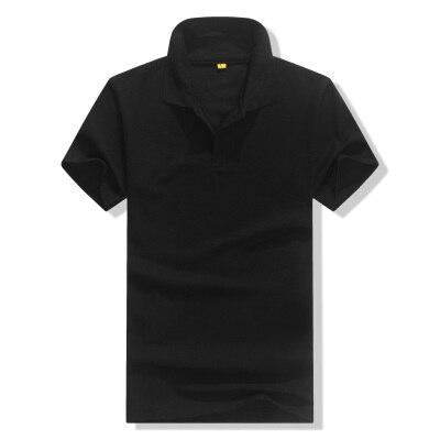 AIMENWANT men&women short  sleeve DIY logo t-shirt custom turn down neck advertising tshirt business company work shirt sales