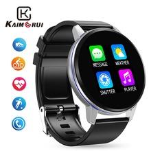Smart Watch Men Women Heart Rate Step Smart Watches Full Touch Bluetooth Sport Wristwatch Fitness Tracker for Android IOS Phone bounabay heart rate smart watch for men bluetooth man watches clock apple android phone ios man s touch screen men s clocks