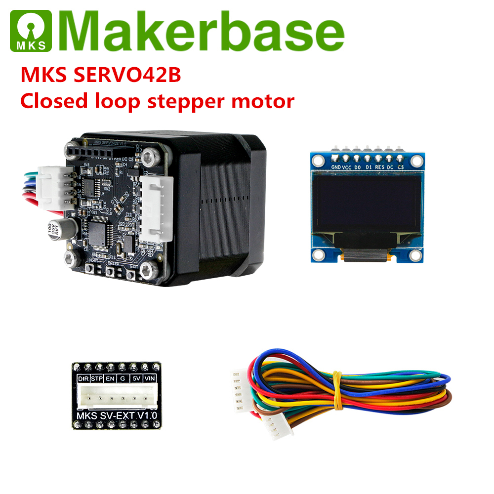 Makerbase MKS SERVO42B 3D Printer Closed Loop Stepper Motor Servo Stepper Motor SMT32 Close-loop Motor Controller For Nema 17