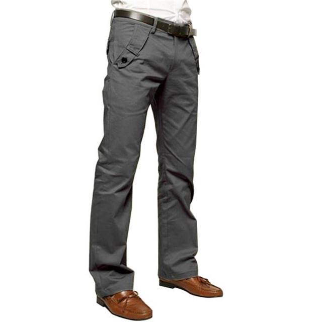 Hot! homens Magro Ocasional lápis jean Calças Calças Calças Sweatpants Sportwear Lazer