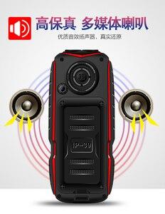 Image 5 - זול מיני כוח בנק טלפון KUH T3 גדול קול חיצוני עמיד הלם נייד טלפון 2.4 אינץ כפולה פנס מהיר חיוג מחוספס הסלולר