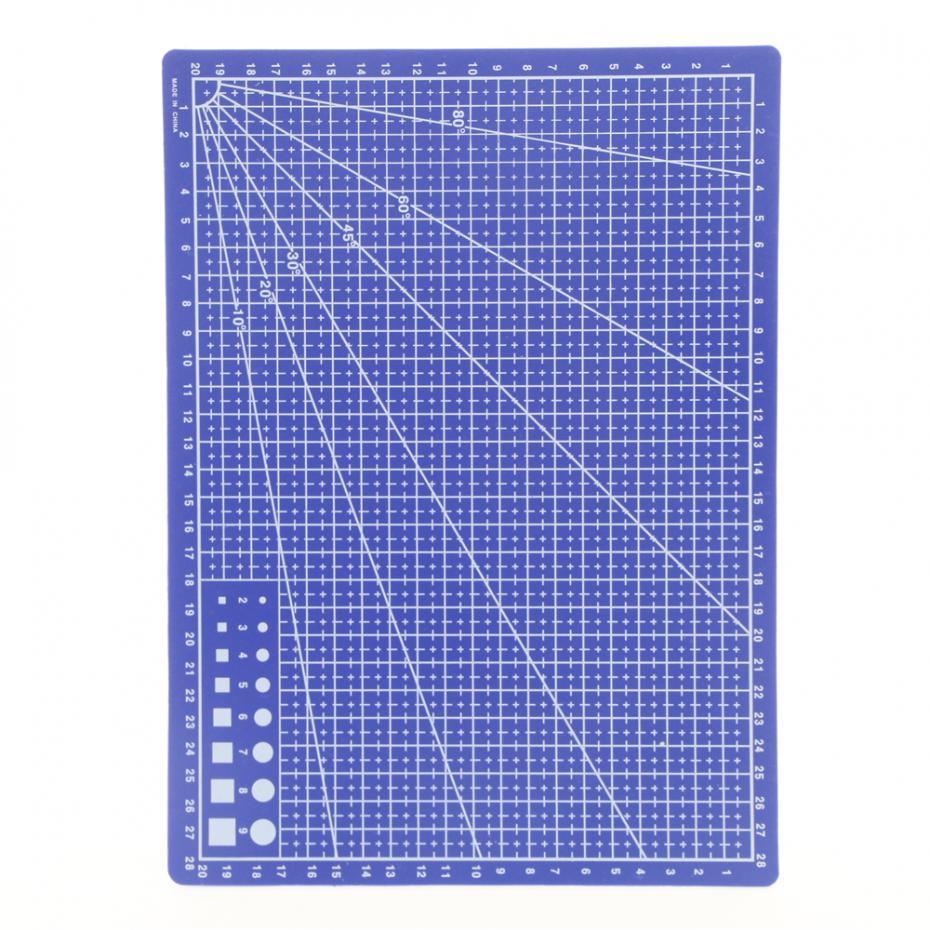 все цены на Free Shipping High Quality Pvc Cutting Mat Patchwork Tools Handmade Diy Accessory Quilt Plate Mediated Blades Cut Cardboard онлайн