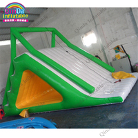 Giant/Large Water Climbing Slides Children Toys Summer Play Water Island Game inflatable water slides