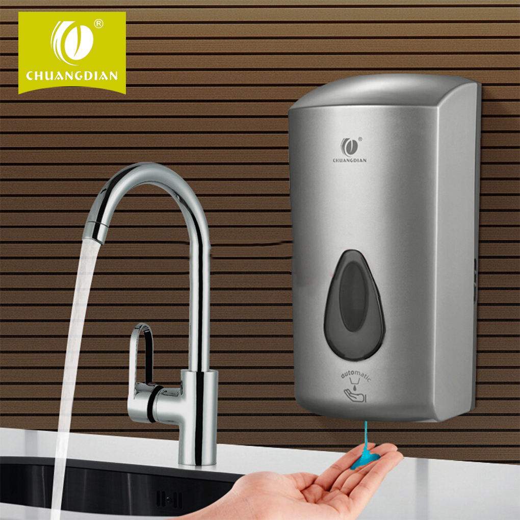 Auto-Induction Free Punching Liquid Soap Container DispenserWall Mount Pump Foam Spray Lotion Drop Shampoo Box automatic infrared sensor free punching liquid soap container wall mount pump lotion drop soap dispenser for bathroom toilet