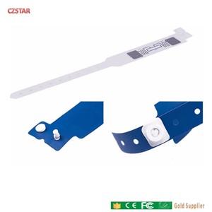 Image 4 - Luvas de PVC descartáveis UHF RFID tag ID Hospital paciente reutilizável silicone Pulseira rfid uhf tag escola de esportes de corrida