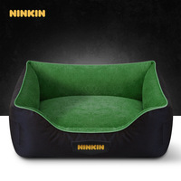 Square High Quality Pet Beds Warm Kennel House Comfortable Cama Para Cachorro Mat Large Dog bed