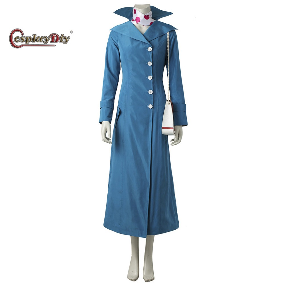 Cosplaydiy Despicable Me 3 Lucy Cosplay Costume Outfit Anime Adult Women Dress Halloween Carnival Party Suit Custom Made