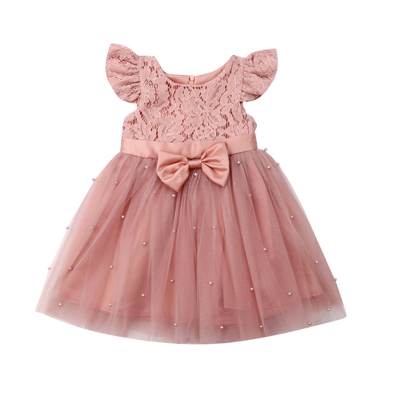 Toddler Kids Baby Girl Party Pageant Princess Tutu Dress Summer Casual Sundress