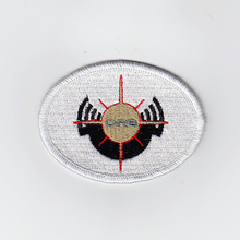 100%Embroidery GUNDAM United Emirates of ORB Military Tactical Morale Embroidery patch Badges B2434(China)