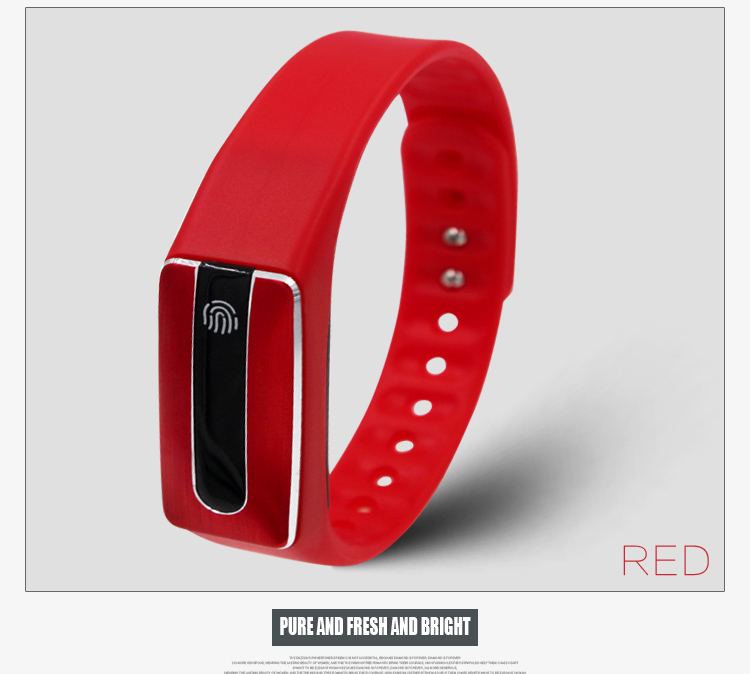 ФОТО 2016 the latest style, sports heart rate Bracelet NFC smart Bracelet Fitness Tracker for Android iOS