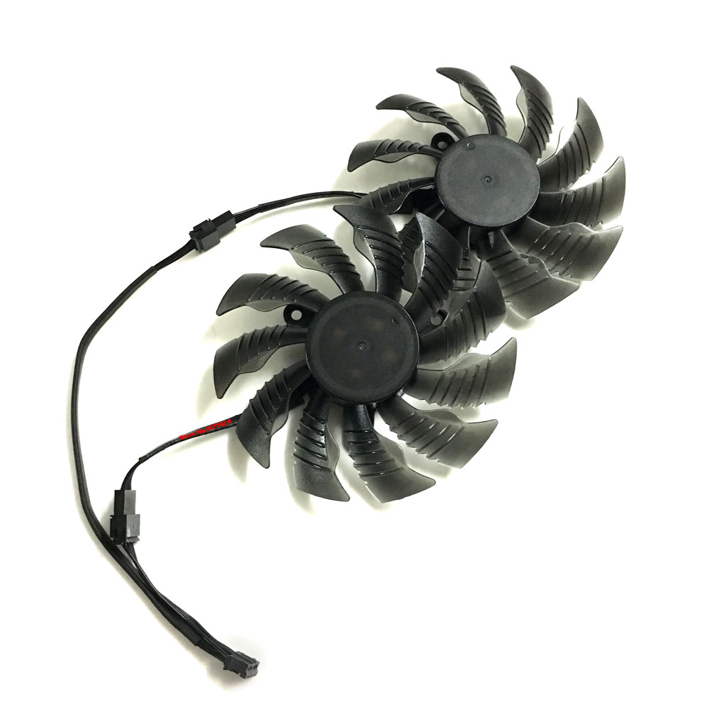 2pcs/lot GTX960/950 GPU cooler Graphics card fans for REDEON GV-N950XTREME C GV-N960WF2O ...