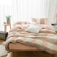 Luxo algodão Egípcio conjunto de cama azul vermelho de cetim conjuntos capa de edredão lençóis de linho de cama estilo oriental do vintage