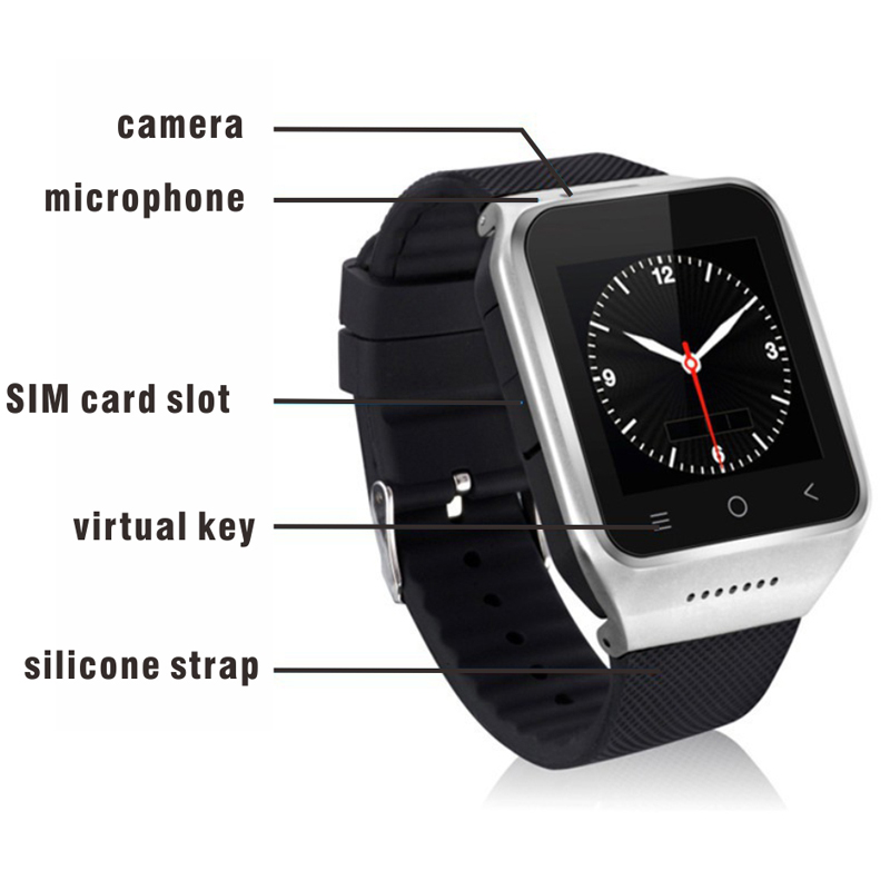 High Quality ZGPAX S8 Smartphone font b Smart b font font b Watch b font Phone