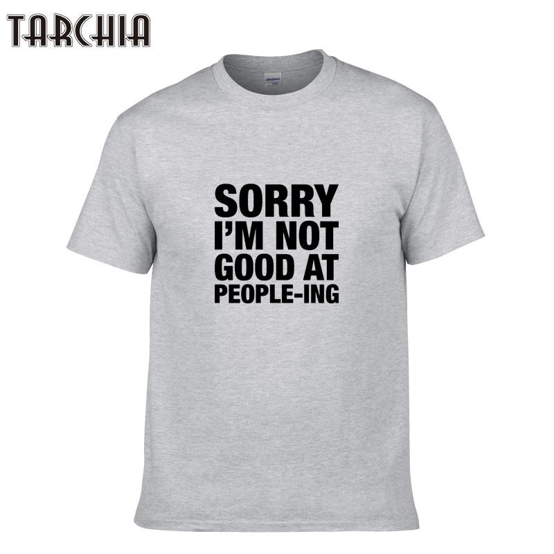 TARCHIA Brand T Shirt Men Clothing 2018 New Summer Style Casual Men'S T-Shirts Slim Fit Cotton Tee Shirt Short Sleeve Tees Tops