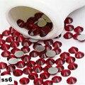 Ss6 2.0mm Garnet Strass Unhas, 1440 pçs/lote Plana Volta Non Hotfix Glitter Pedras Prego, Prego 3d DIY telefones Decorações Suprimentos