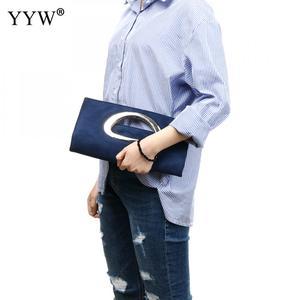 Image 5 - חדש ערב מצמדי תיק נשים של כחול מצמד ארנק אופנה תיקי מתקפל דלי תיק טוטס חתונה מזדמן torebki damskie