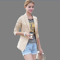 2017 New Womens Business Suits Spring And Autumn All Match Women Blazers And Jackets Slim Long