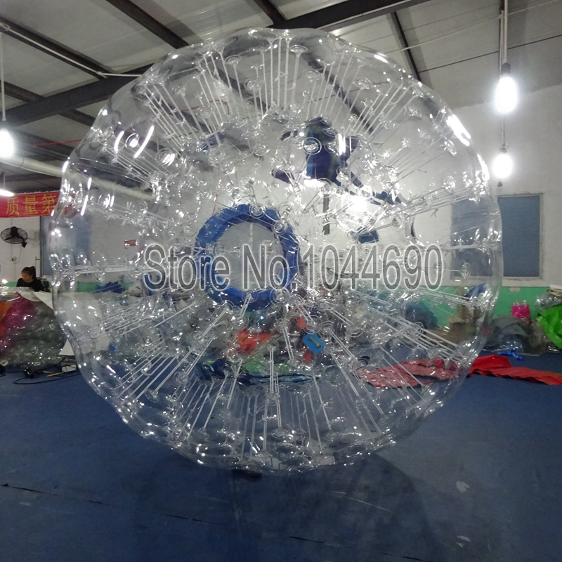 Best price 3m Dia clear zorb ball water,ball pool for kids