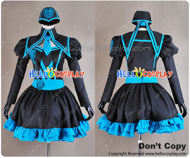 Hatsune Miku Costume from Vocaloid Love Philosophia Cosplay H008