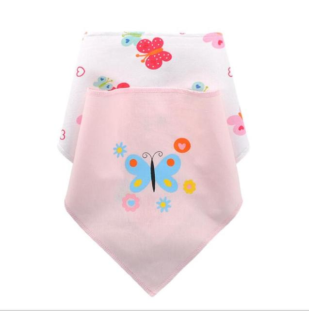 2 Piece/set baby bibs cotton girls towel burp bebes Newborn cloth Accessories Infant boys Unisex Car