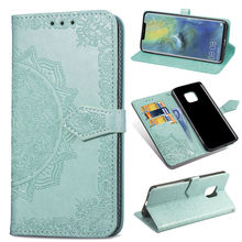 Flip Case For Huawei Mate 20 Lite P20 P30 Pro CASE Printed PU Leather Card Wallet Stand Cover mate 20 pro p20 lite p30 pro case lychee texture pu leather flip wallet case mobile phone bag back cover skin coque funda capa for huawei p20 p30 mate 20 lite pro